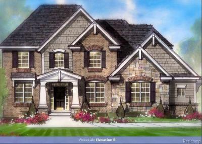 Farmington Hills Single Family Home For Sale: 37125 White Tail Crt