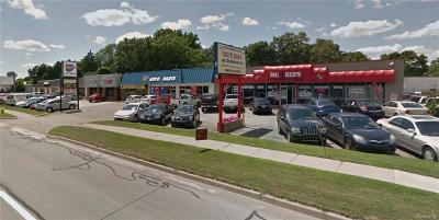 Clinton Township Commercial/Industrial For Sale: 36439 S Gratiot Ave