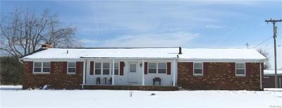 Lapeer Single Family Home For Sale: 2394 Harrington