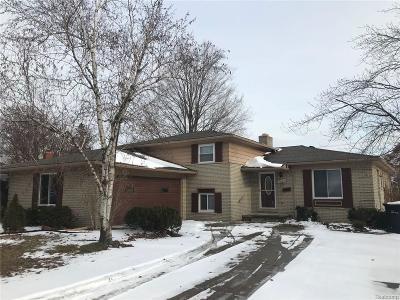 Allen Park Single Family Home For Sale: 4601 Larme Ave