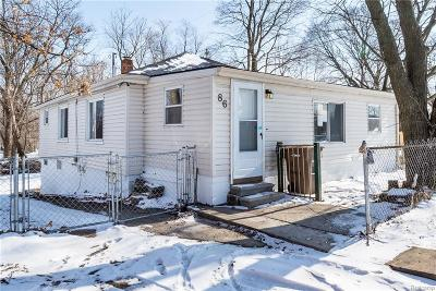 Pontiac Single Family Home For Sale: 86 Peach St