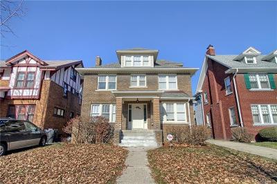 Detroit Single Family Home For Sale: 1520 Longfellow St