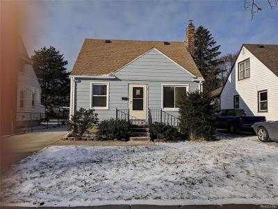 Dearborn Heights Single Family Home For Sale: 4482 Grindley Park St