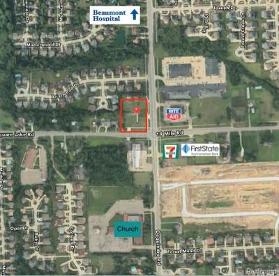 Residential Lots & Land For Sale: 43003 Dequindre Rd