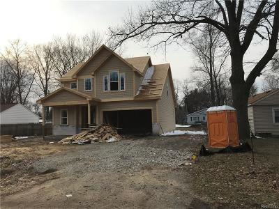 Farmington Hills Single Family Home For Sale: 33558 Rhonswood St