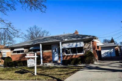 Trenton Single Family Home For Sale: 2846 Canterbury St