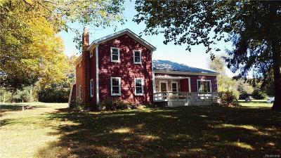 Clarkston Single Family Home For Sale: 7701 S Eston Rd