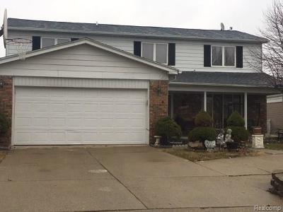Sterling Heights Single Family Home For Sale: 38932 Lowell Crt