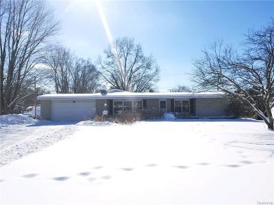 Lapeer Single Family Home For Sale: 1131 Turrill Rd