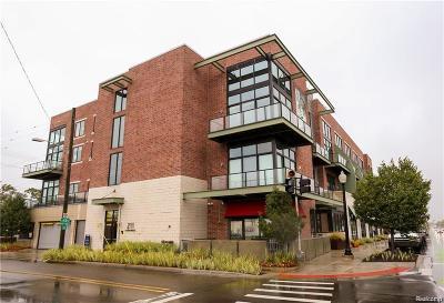 Ferndale Condo/Townhouse For Sale: 211 E Nine Mile Rd
