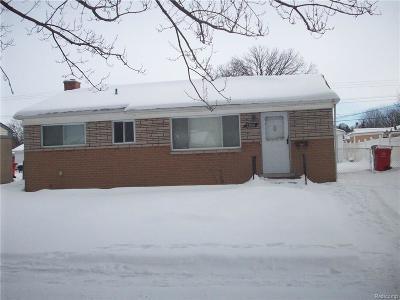 Clinton Township Single Family Home For Sale: 33926 Cheryl
