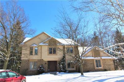 Farmington Hills Single Family Home For Sale: 21860 Parkwood Ln