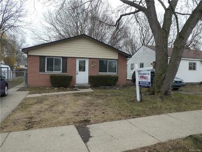 Westland Single Family Home For Sale: 5940 N Carlson St
