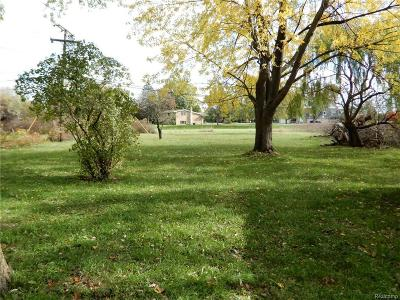 Macomb Residential Lots & Land For Sale: 34490 Schoenherr Rd