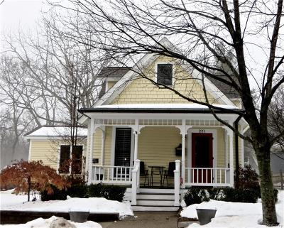 Northville Single Family Home For Sale: 221 N Rogers St
