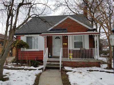 Dearborn Heights Single Family Home For Sale: 7315 N Lafayette St