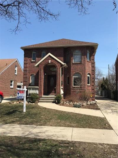Dearborn Single Family Home For Sale: 1320 Mayburn St