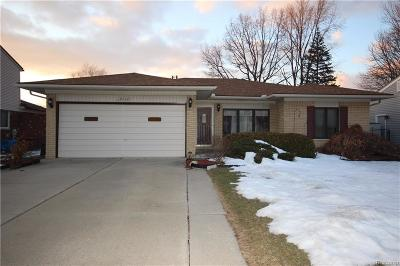 Sterling Heights Single Family Home For Sale: 39737 Genevieve Dr