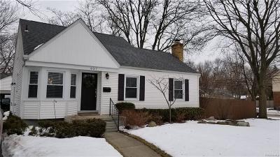 Royal Oak Single Family Home For Sale: 827 E 3rd St