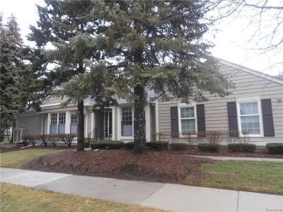 Bloomfield Hills Condo/Townhouse For Sale: 727 Briar Hill Ln