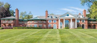 Bloomfield Hills Single Family Home For Sale: 1855 Rathmor Rd