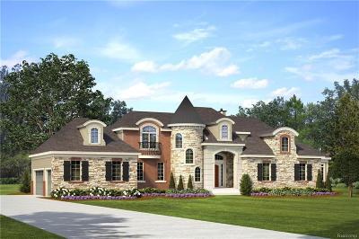 Northville Single Family Home For Sale: Malsia Crt