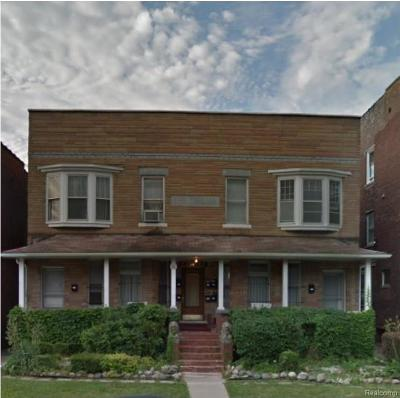Detroit Multi Family Home For Sale: 661 W Forest Ave