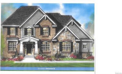Farmington Hills Single Family Home For Sale: 37328 White Tail Court