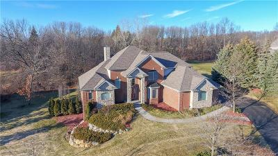 Clarkston Single Family Home For Sale: 5464 Boulderwood Rdg
