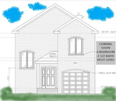 Warren Single Family Home For Sale: 6030 E 14 Mile Rd