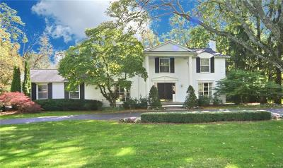 Bloomfield Hills Single Family Home For Sale: 552 Kingsley Trl
