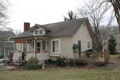 Northville Single Family Home For Sale: 597 Randolph St