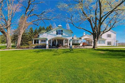 Lapeer Single Family Home For Sale: Hadley Rd