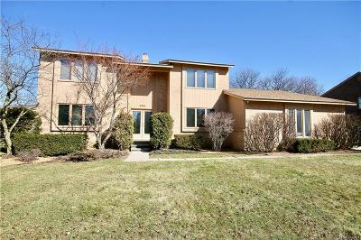 Bloomfield Hills Single Family Home For Sale: 4241 Sedgemoor Ln