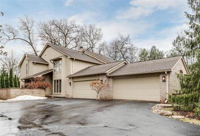 Bloomfield Hills Condo/Townhouse For Sale: 1234 Woodcrest Cir