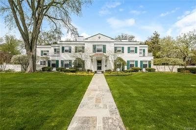 Grosse Pointe Farms Single Family Home For Sale: 76 Lothrop Rd