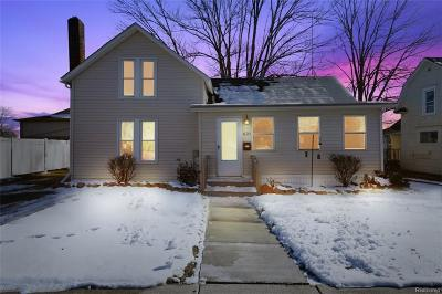 Marine City Single Family Home For Sale: 621 West Blvd