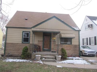 Lincoln Park Single Family Home For Sale: 2157 Thomas St