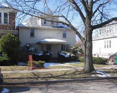 Grosse Pointe Park Multi Family Home For Sale: 1419 Maryland St