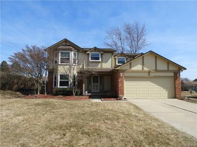 Rochester Hills Single Family Home For Sale: 2011 Highsplint Dr