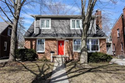 Huntington Woods Single Family Home For Sale: 10114 Nadine Ave