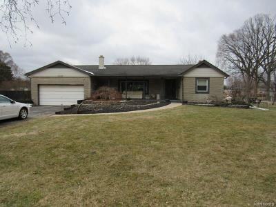 Taylor Single Family Home For Sale: 8424 Mortenview Dr