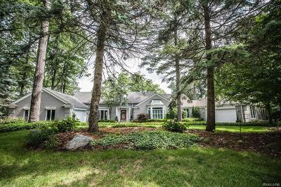 Bloomfield Hills Single Family Home For Sale: 1624 Lochridge Rd
