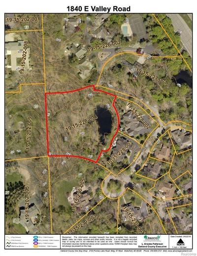 Bloomfield Hills Residential Lots & Land For Sale: 1840 E Valley Rd