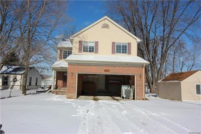 Macomb Single Family Home For Sale: 11795 Carney St E