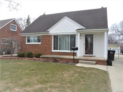Taylor Single Family Home For Sale: 7510 Harding St