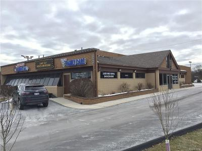 Commercial Lease For Lease: 41069 Dequindre Rd