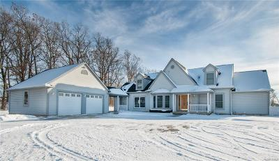 Clarkston Single Family Home For Sale: 5474 Farley Rd