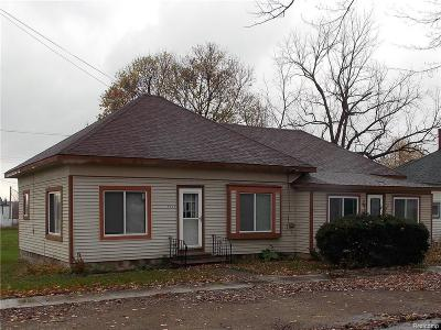 Lapeer Multi Family Home For Sale: 4255 Mill St