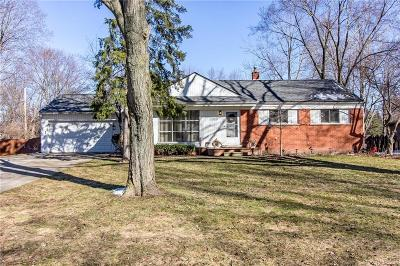Clinton Township Single Family Home For Sale: 39340 Drake St